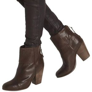 Rag & Bone Newbury Boot in Brown Leather